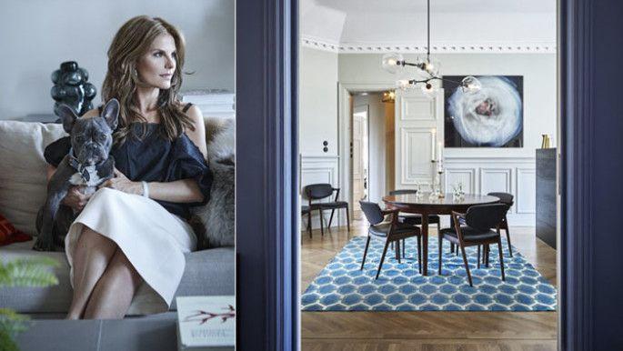 Kika in hemma hos modedrottningen Nathalie Schuterman | Residence