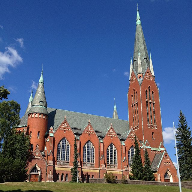 St. Michael's Church in Turku, Finland