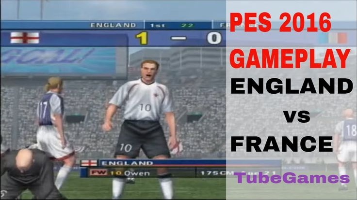 [video] PES 2016 - England vs France Gameplay #Playstation4 #PS4 #Sony #videogames #playstation #gamer #games #gaming