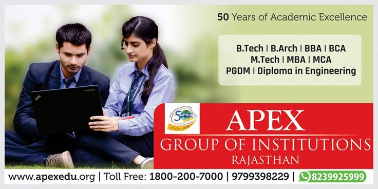 Admission open in Apex Group of Institutions