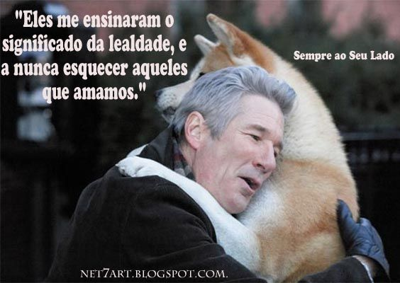Sempre Ao Seu Lado (Hachiko: A Dog's Story). Com Richard Gere. Frases e trailer musical. - Net7Art