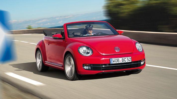 New VolksWwagen Beetle Cabriolet Convertible