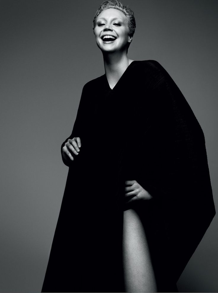Beautiful photo of Gwendoline Christie, who plays Brienne of Tarth on Game of Thrones.