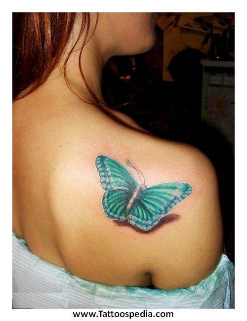 Best 25+ Butterfly shoulder tattoo ideas on Pinterest ...