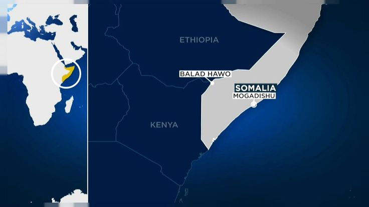 Al-Shabaab has detonated a suicide bomb in the Somali border town of Balad Hawo, near Kenya, prompting a fierce and deadly battle between the group