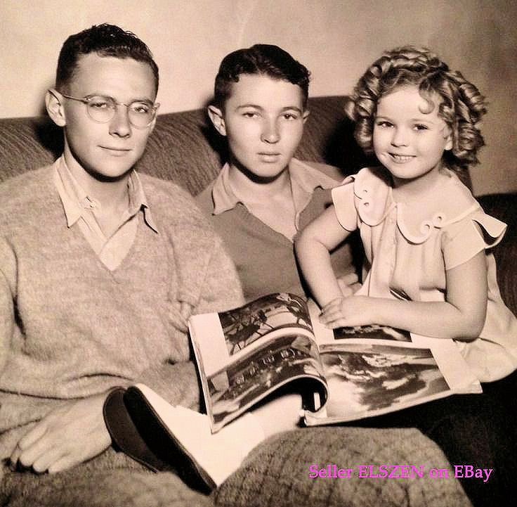 1935 - Shirley Temple & her brothers