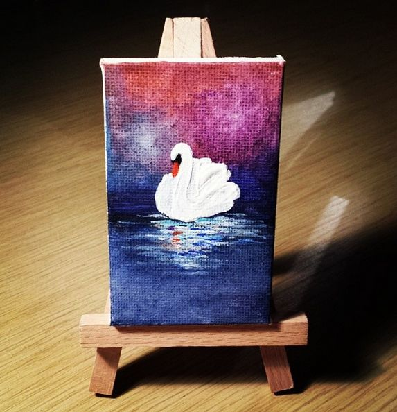 best 25 mini canvas ideas on pinterest mini canvas art small canvas paintings and canvases. Black Bedroom Furniture Sets. Home Design Ideas