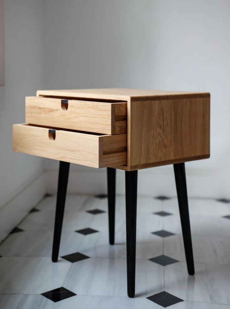 petite commode par habitables blog deco design taste table de chevet scandinave table de. Black Bedroom Furniture Sets. Home Design Ideas