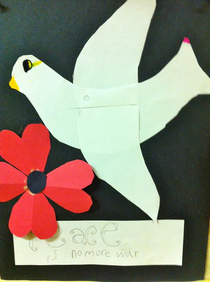 Finding Colour in Life: Remembrance Day- a Peace Project in my grade 4 classroom