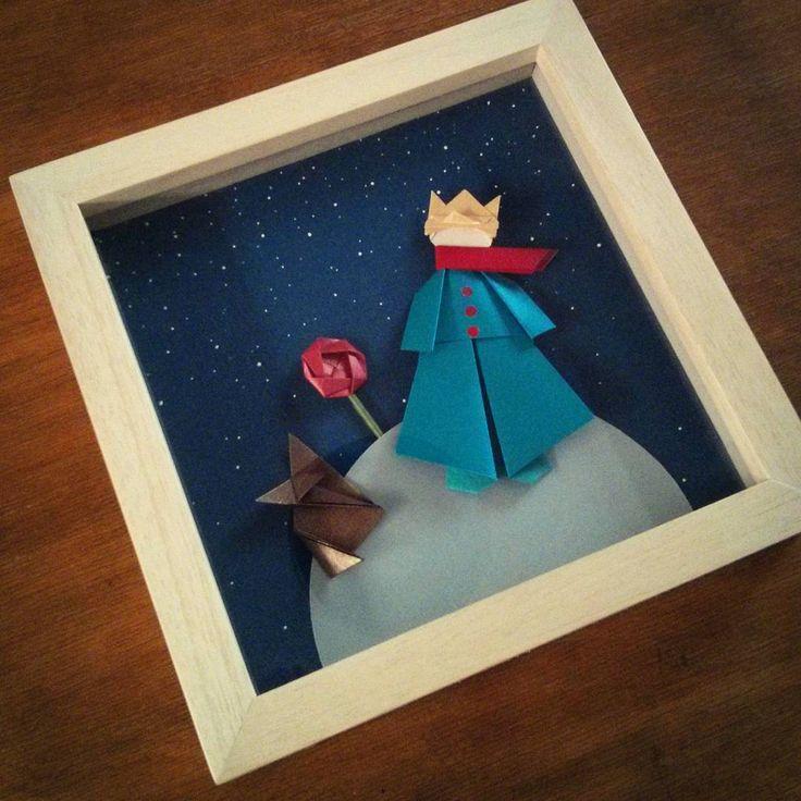 """El Principito"" Le petit prince / Autora: Shoko Aoyagi Rosa / Autor: Toshikazu Kawasaki Kusudama Venus / Figura tradicional Zorro: ?"