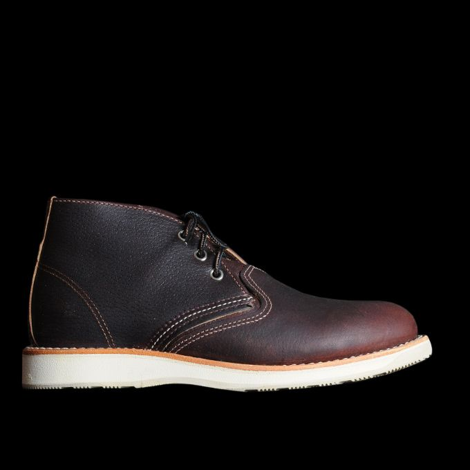 UNIONMADE - Red Wing - Work Chukka in Briar Oil Slick 3141