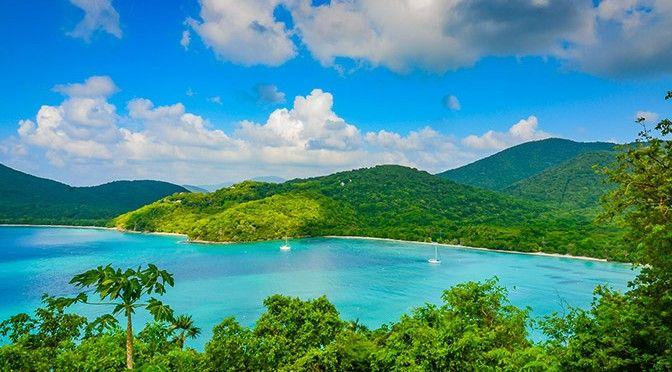 St. John, USVI with kids - View from US Virgin Islands National Park - details in http://www.familytravel411.com/411-us-virgin-islands-with-kids-st-thomas-st-john/