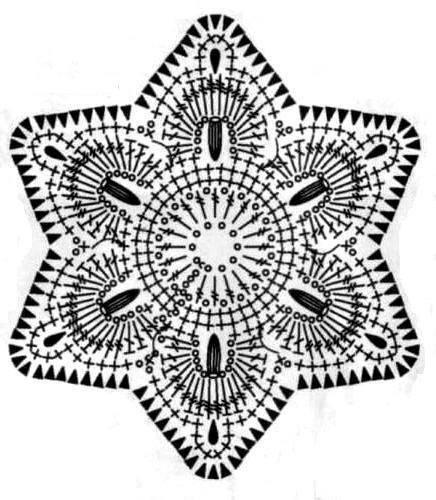 Pattern for crochet flower up loaded by Crochet Kingdom (E.H) on facebook