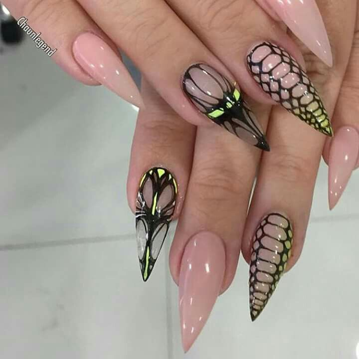 1052 best face uñas images on Pinterest | Acrylic nail designs, Face ...