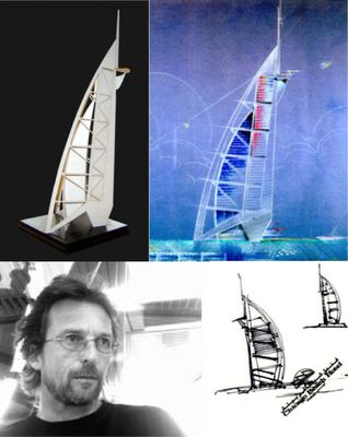 architects united: Tom Wright - the architect and designer of the Burj al Arab in Dubai
