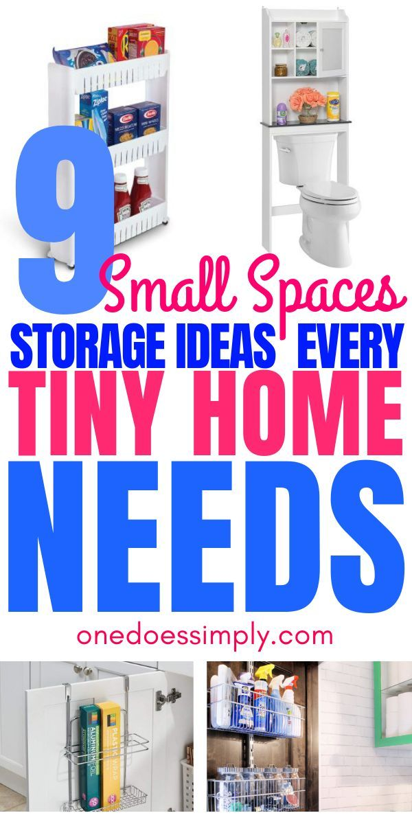 Small Spaces Storage Solutions that Are Basically Genius