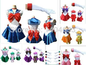 new anime sailor moon cosplay costume uniform fancy dress up sailormoon outfit cartoon character costumes top fashion 2014