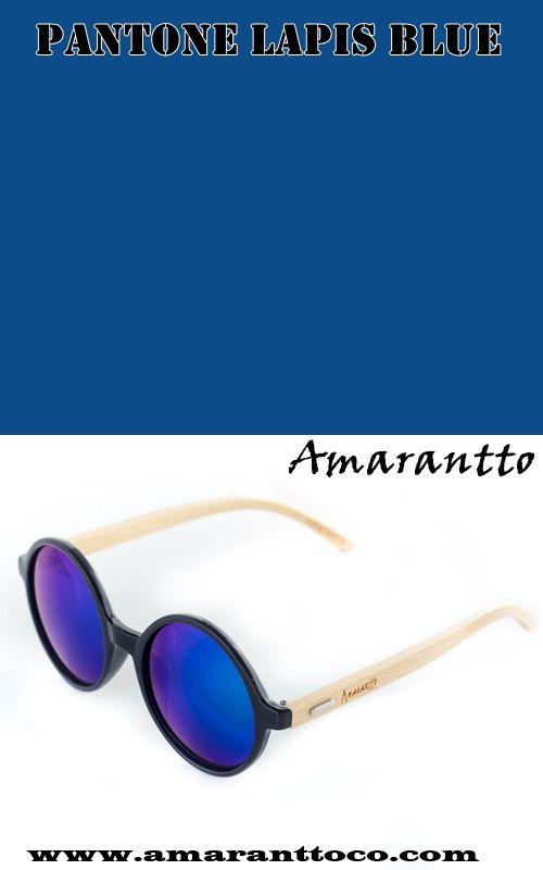 Pantone Lapis Blue. Tendencia de color Pantone temporada Primavera-Verano 2017.  Gafas de sol Cala Blue de @amaranttoco. #amarantto #gafasdesol #sunglasses #CalaBlue #lifestyle #tendencia #color #moda #pantone #2017 #LapisBlue