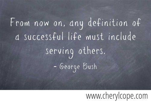 George Bush quote