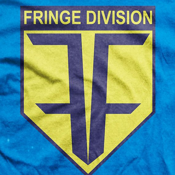 Fringe TV Series Future Fringe Division Logo by MetaCortexShirts, £14.99