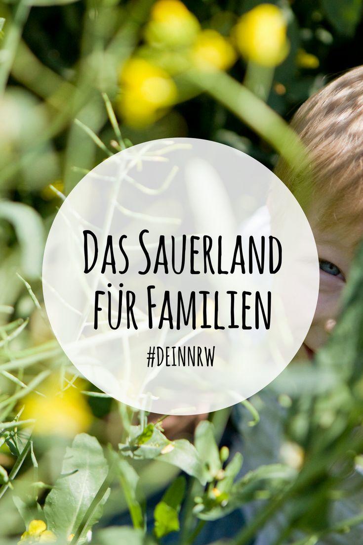Du planst einen Urlaub oder einen Ausflug mit der Familie ins Sauerland? Wir haben Tipps für Dich, was Du im Sauerland mit Kindern erleben kannst. #deinnrw ©️ Sauerland-Tourismus e.V. / sabrinity.com