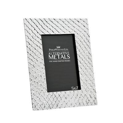 Philip Whitney Alternative Metals Mesh Picture Frame