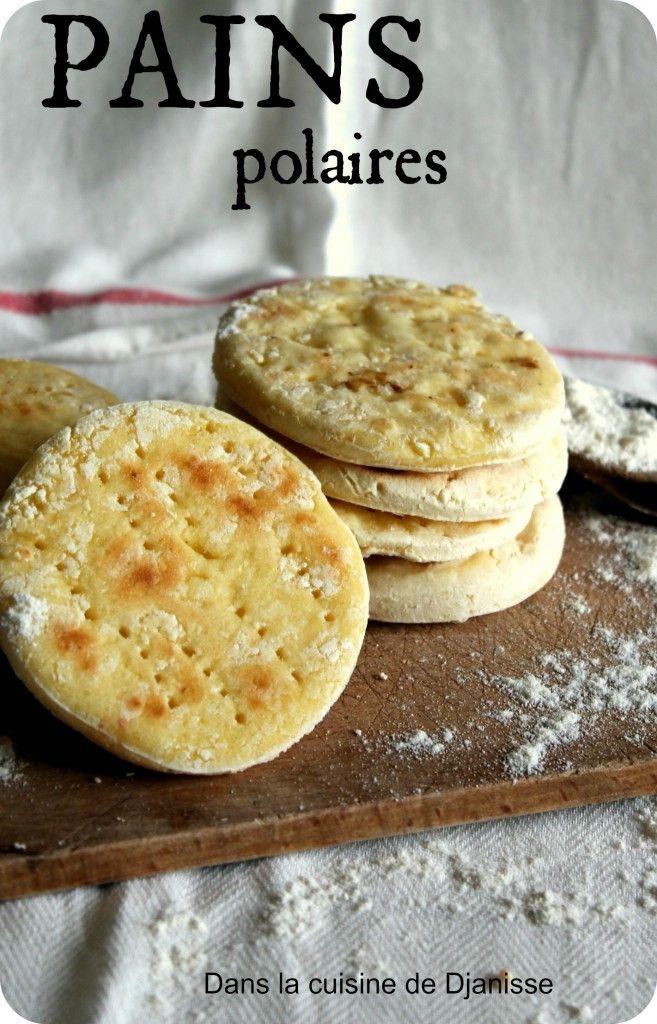Pains polaires sans gluten, cuisson à la poêle