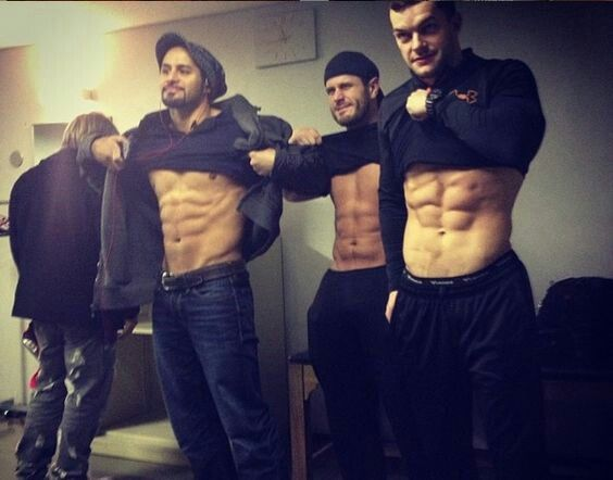 Alex shelley, finn balor and tama tonga