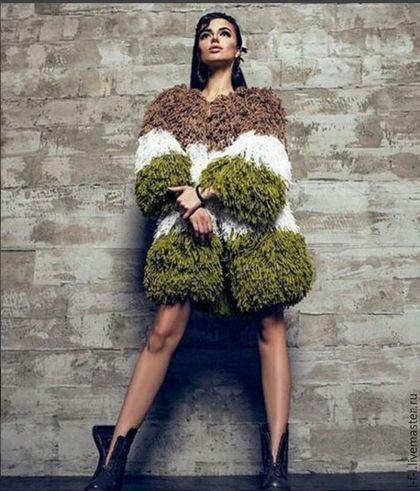 Knitted cardigan / Кофты и свитера ручной работы. Ярмарка Мастеров - ручная работа. Купить Вязаный кардиган от KESLOVE в три цвета. Handmade. Комбинированный