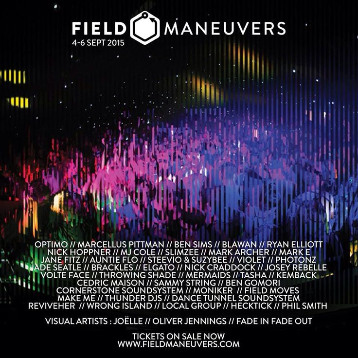 Joëlle announced for Field Maneuvers 2015
