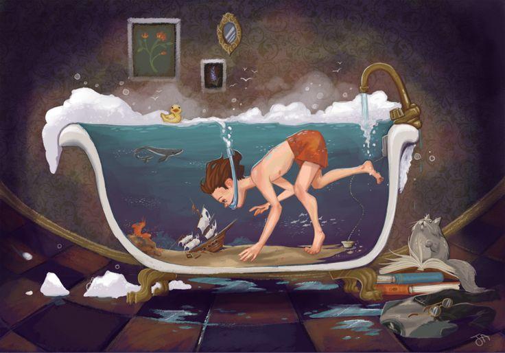 Depths of Imagination by *JennaleeAuclair on deviantART