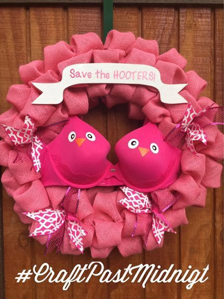 Save the Hooters Breast Cancer Awareness by CraftPastMidnight