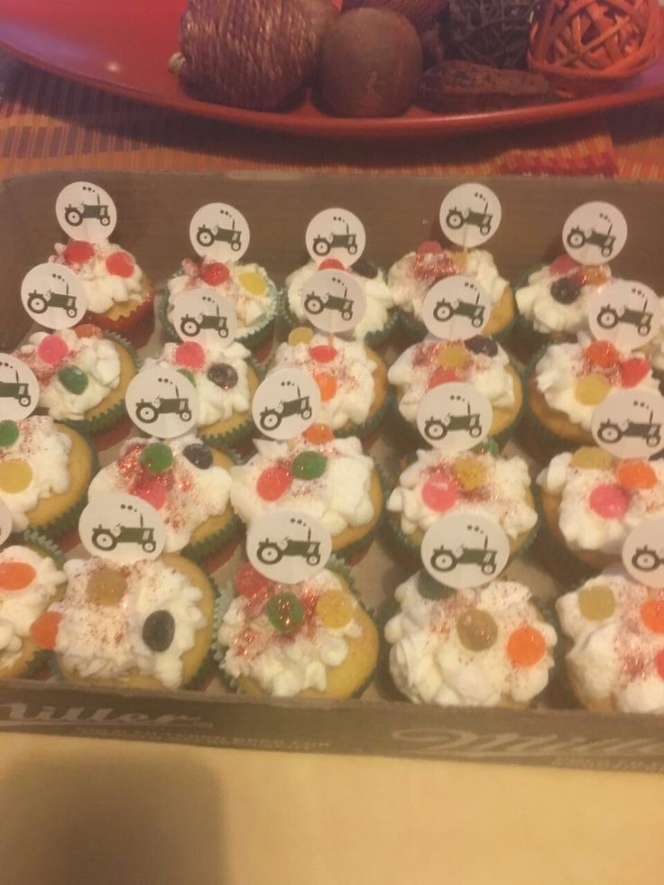 Anty Marcelle's car cupcakes