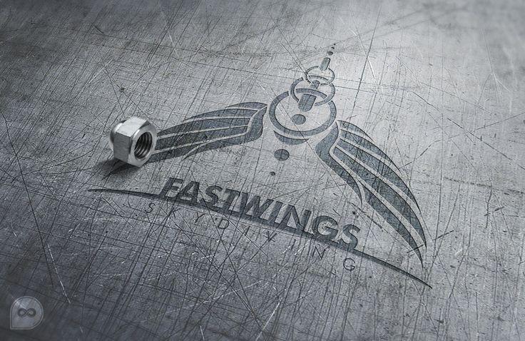FastWings Skydiving Logo