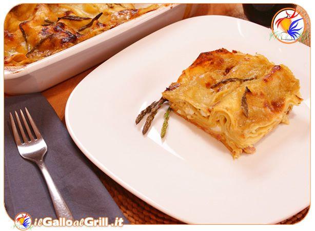 Lasagne agli Asparagi, ricetta per un primo piatto adatto al periodo Pasquale…