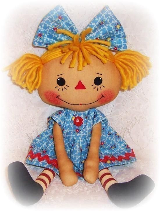 how to make country rag dolls