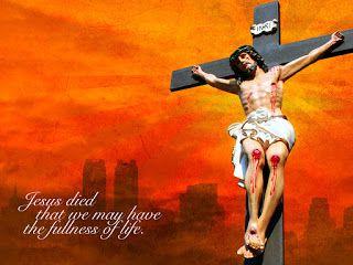 Download HD Christmas & New Year 2018 Bible Verse Greetings Card & Wallpapers Free: Jesus in Cross Wallpaper | Good Friday Wallpaper