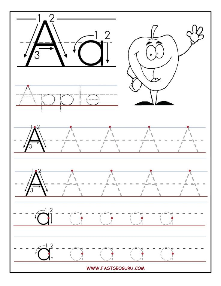 Free Printable letter F tracing worksheets for preschool. Free ...