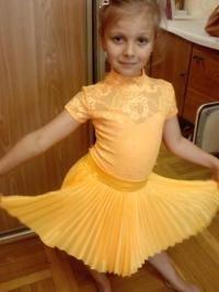 Рейтинговое платье на бальные танцы