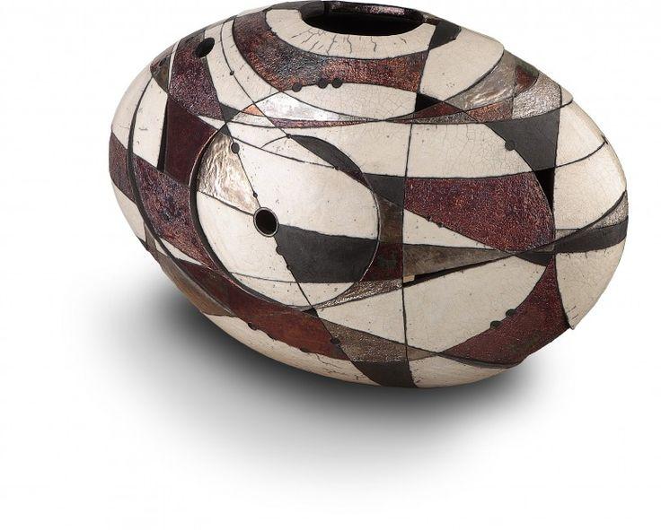 Risultati immagini per ceramica raku d'autore