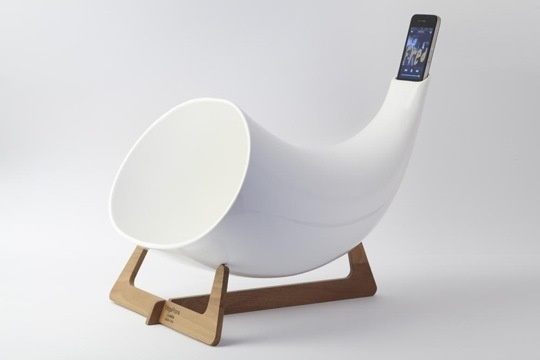 iPhone megaphone anyone? holla.
