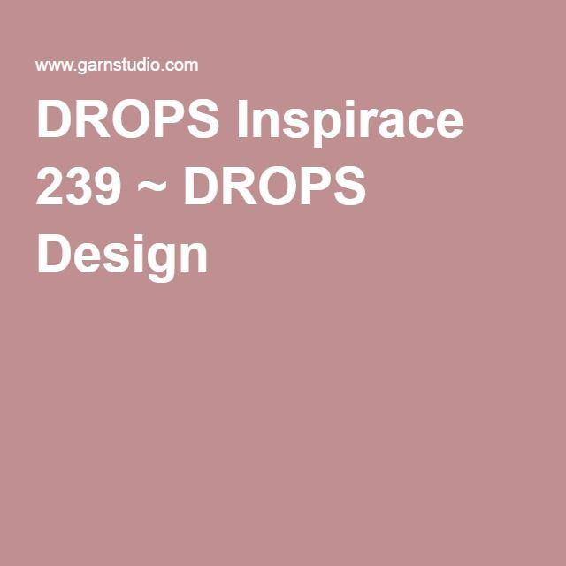 DROPS Inspirace 239 - šatky na letné dni a noci.