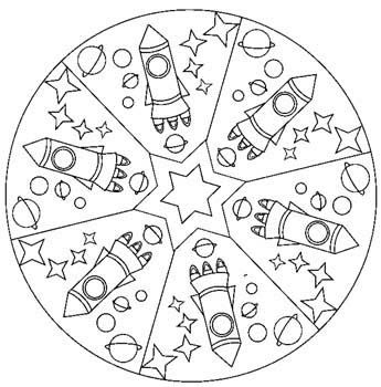 Coloring pages for those who finish their work or when paint is drying.