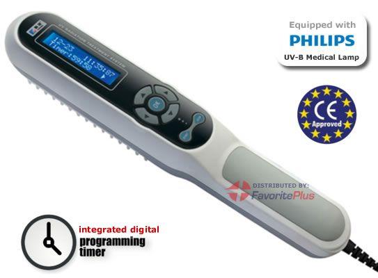 Dermahealer Handheld Uv B Phototherapy Lamp Is A Drug Free