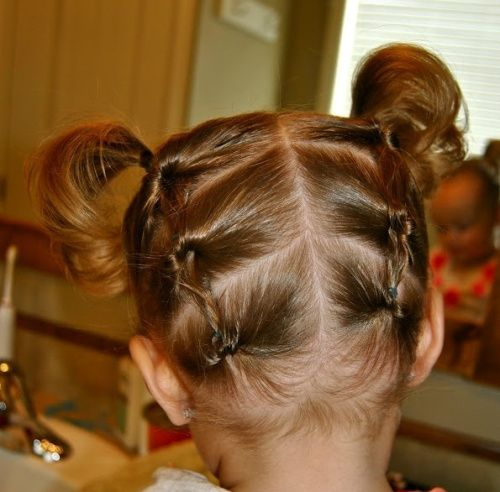 Twins Pony Hairstyle