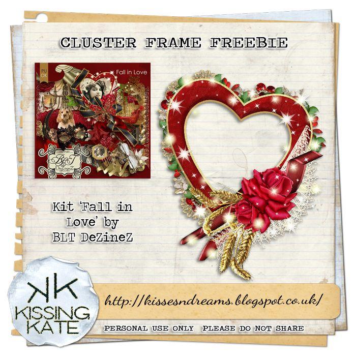 Kisses N Dreams : Fall in Love Cluster Freebie 2