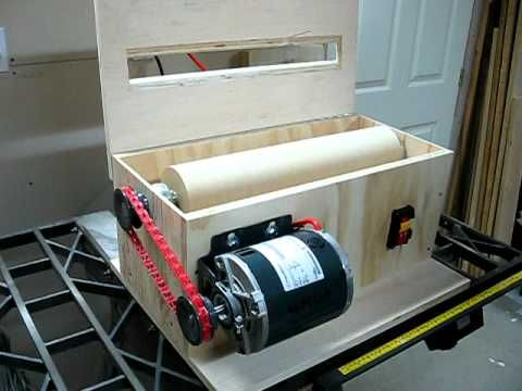 ▶ V-Drum Sander Build - Part 2 - YouTube