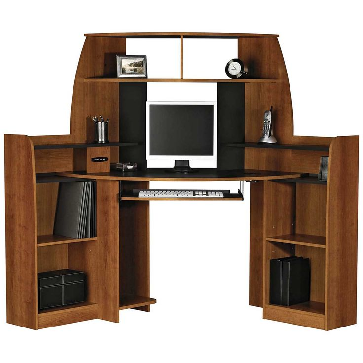 best 25 corner computer desks ideas on pinterest white corner computer desk office computer. Black Bedroom Furniture Sets. Home Design Ideas
