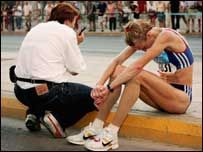 Marathons are tough - just ask Paula Radcliffe who was left devastated at the Athens Olympics