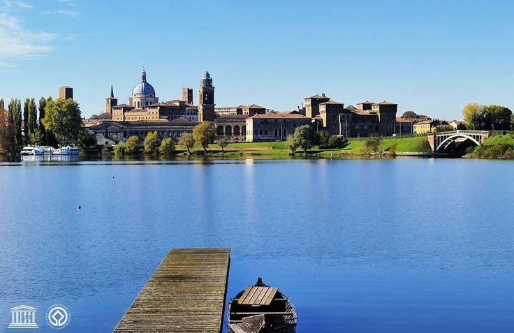 #Mantua and #Sabbioneta - Lombardy -  Mantua  Aristocratic, cultured, and surrounded by an extraordinary natural environment, Mantua was transformed by the Gonzagas (1328-1707) into a city-court of great splendor.  Sabbioneta  tiny urban jewel of inestimable value, this is Sabbioneta, conceived along with the humanistic dream of Vespasiano Gonzaga (1531-1591), enlightened prince and follower of Vitruvius.